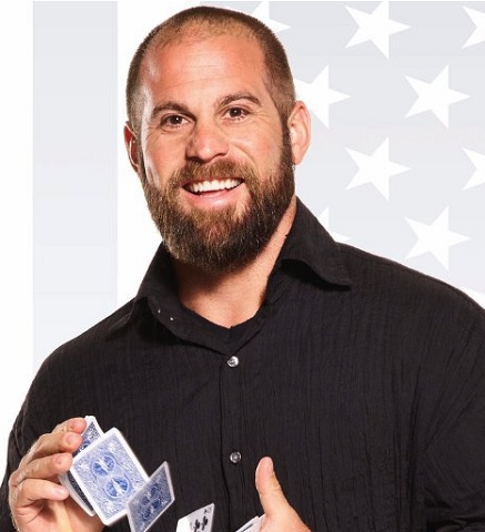 Jon Dorenbos NFL Player and Magician at Gala