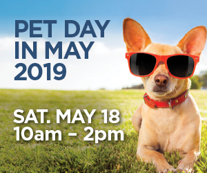 Free Pet Event Saturday
