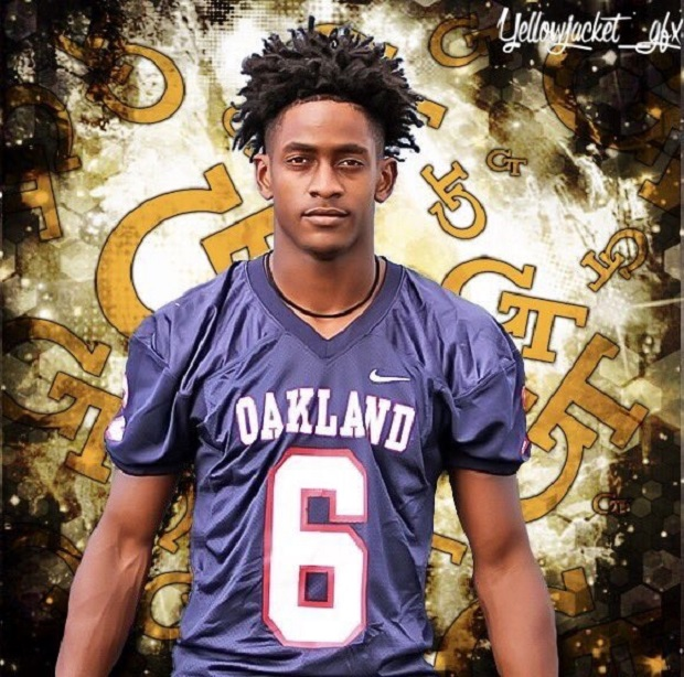 Oakland's Oliver Commits to Georgia Tech
