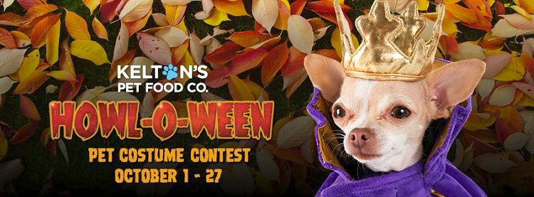 Kelton's Pet Food Co. Hosts Howl-O-Ween Pet Costume Contest