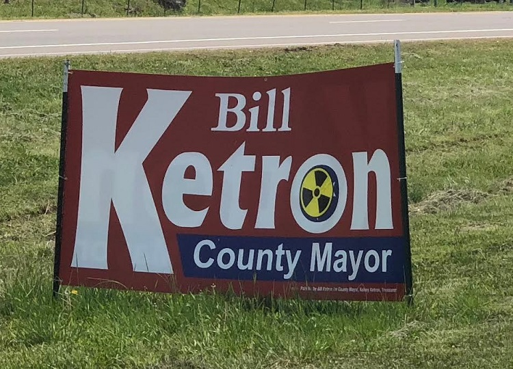 Vandals Defacing Campaign Signs