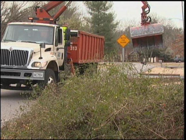 City Solid Waste continues to remove debris following storm damage