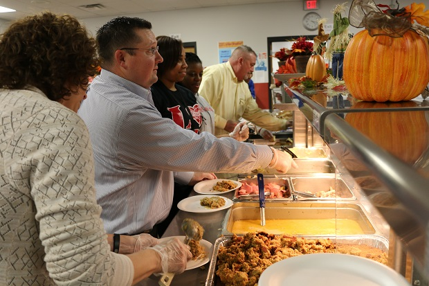 A Full Helping of Community; La Vergne Middle Thanksgiving Meal