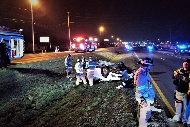 LPD Tuesday Night Pursuit Ends With Crash