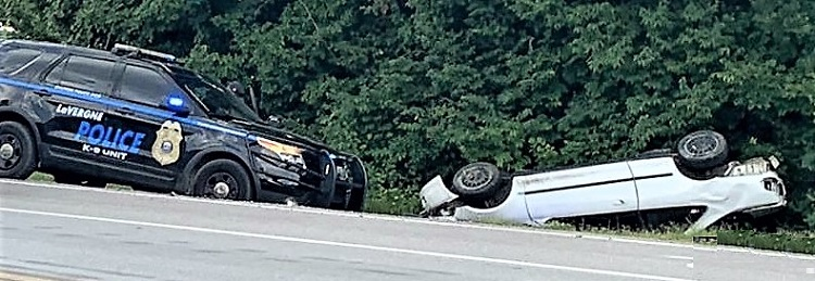 La Vergne Police Chase Ends With Nashville Crash