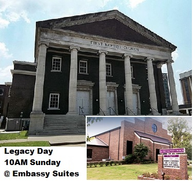 Legacy Day 10AM This Sunday United Two Congregations