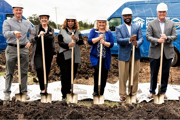 Ground Broken on Habitat's
