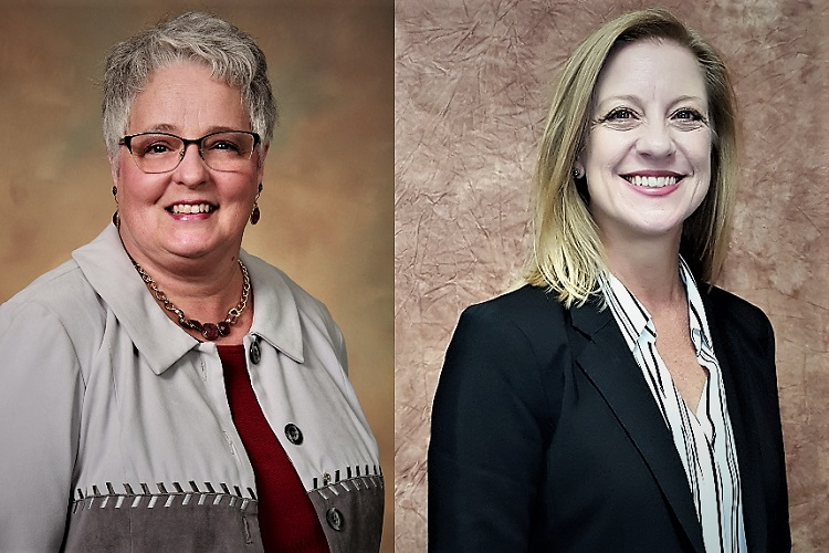 Congratulations to the Eagleville Bicentennial Public Library's Donna Jordon and Smyrna Public Library's Ginger Graves who each earned Public Library Management Certifications from the Tennessee Public Library Management Program.