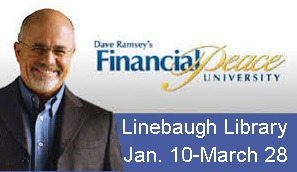 Dave Ramsey's FINANCIAL PEACE Free In January | Financial Peace University, free, Linebaugh Library, January 10-March 28, 2019, Murfreesboro, Edward Jones, WGNS