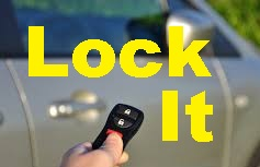 Remember: LOCK YOUR CAR!