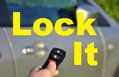 LOCK YOUR CAR DOORS, HIDE VALUABLES!