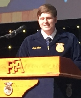 RHS Senior Luke Love Elected FFA State President