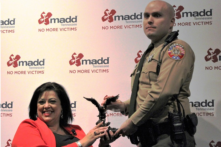 MADD Honors RCSO For DUI Arrests! | RCSO, MADD, DUI arrests, Murfreesboro, WGNS