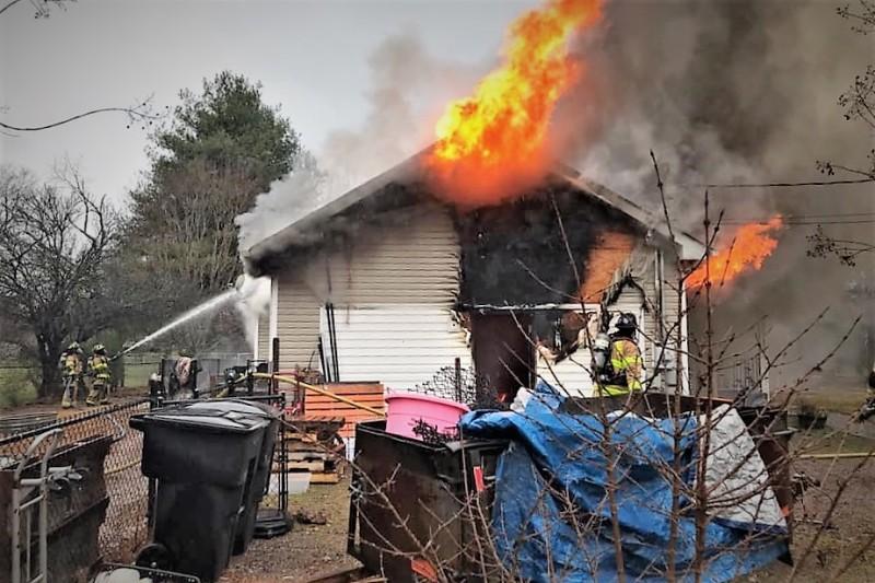 Thursday Morning House Fire On Centertree Dr.