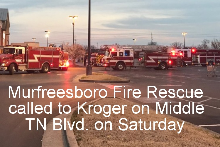 Smell Closed Middle TN Blvd. Kroger...Cleared And Open Now