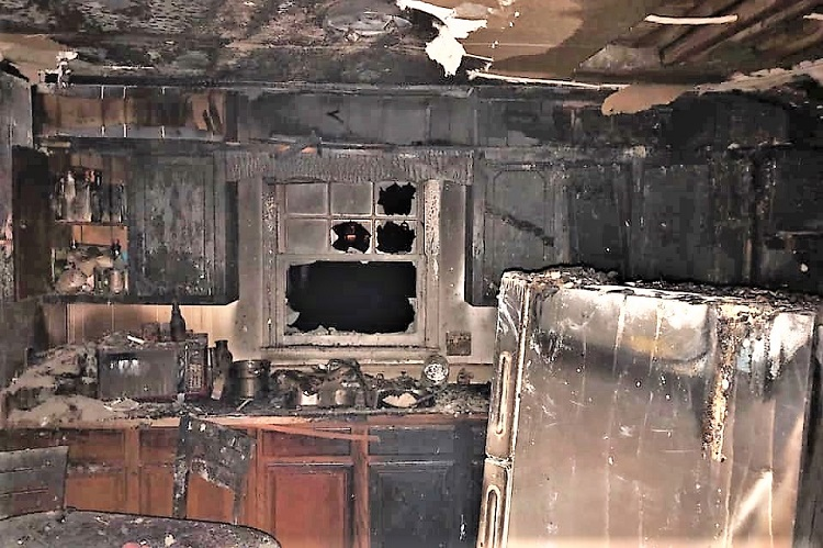 Christmas Fires: Don't Leave Cooking Unattended