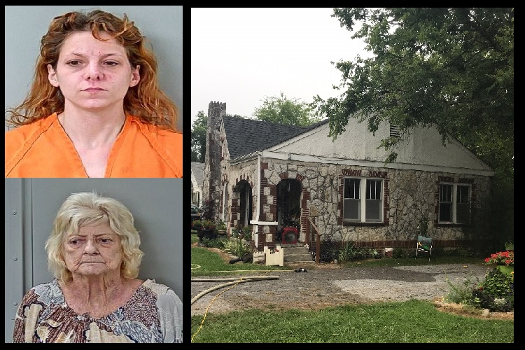 Granddaughter and Grandmother Charged With Arson