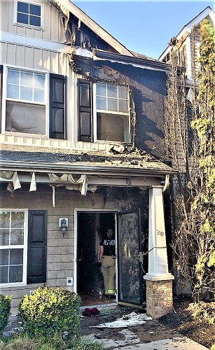 MFRD Rushes To Tuesday Afternoon Fire