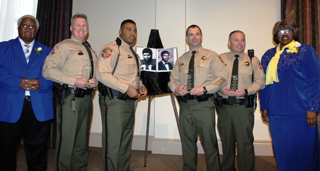 Officers Honored At MLK Breakfast