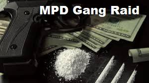 MPD Drug and Gang Raid Monday On Bradyville Pk.