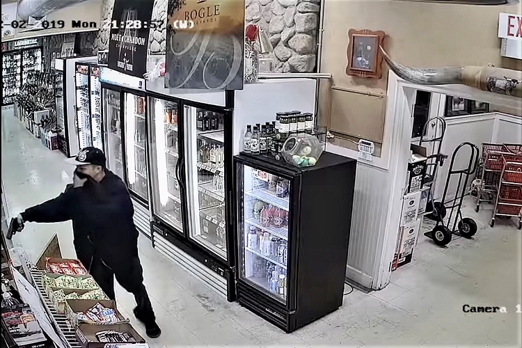 Longhorn Liquors at 223 NW Broad Street, across from the old Murfreesboro City Hall was the victim of an armed robbery shortly after 9:00 o'clock Thursday night. Call MPD Detective Richard Presley at (629) 201-5615 if you recognize him.