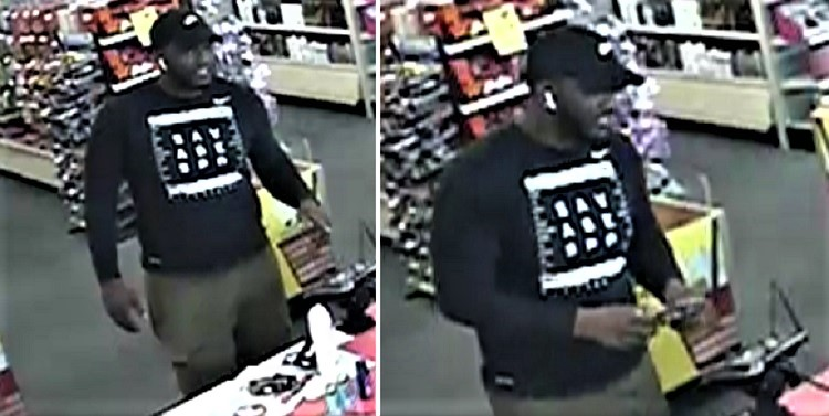 Do You Recognize Him?  Call MPD 629-201-5615