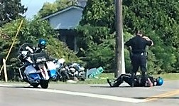 Two Murfreesboro Police Motorcycle Officers Collide with One Another Tuesday