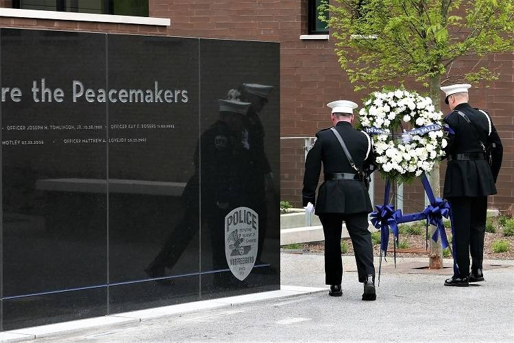 Peace Officers Memorial Day Service 10AM THIS Morning
