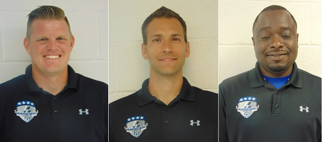 Murfreesboro Soccer Club Hires 3 Key Persons