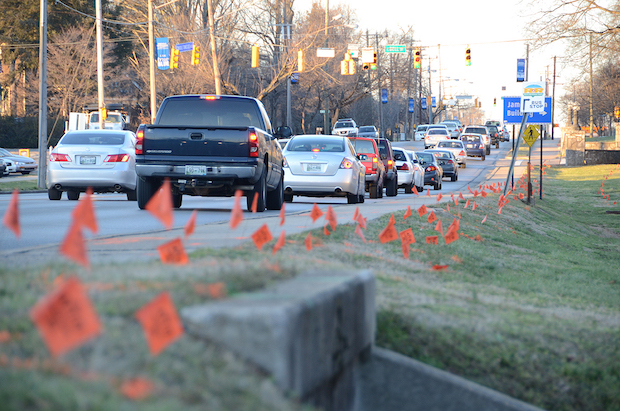 Start of Middle Tenn. Boulevard upgrade near MTSU to slow traffic, impact parking access