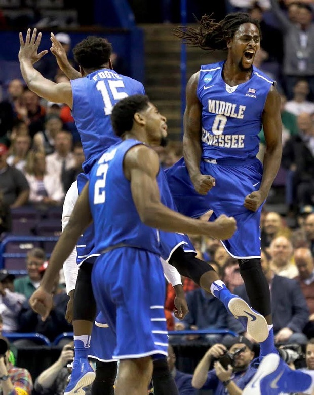 Middle Tennessee Men SHOCK the Country: Beat Michigan State 90-81