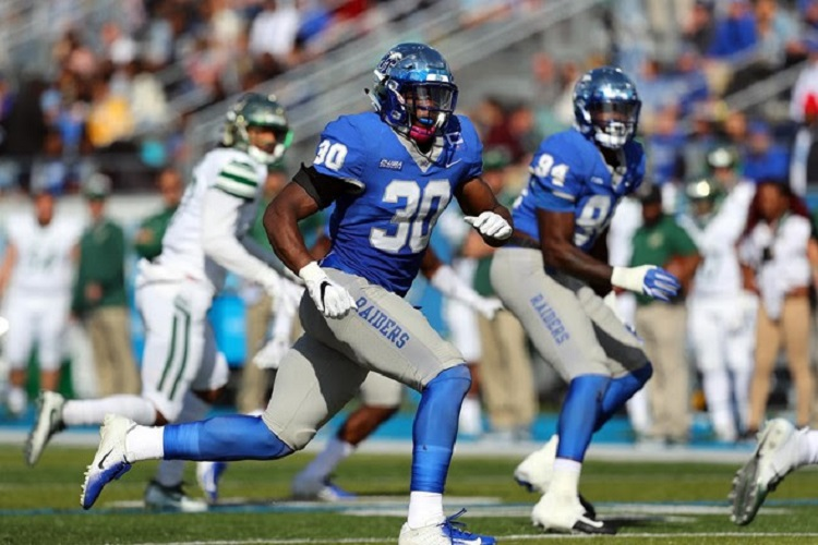FB: Blue Raiders earn Homecoming win