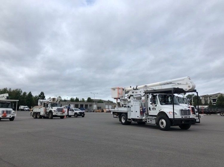 MTEMC Sends Crews to Help with Hurricane Michael Recovery