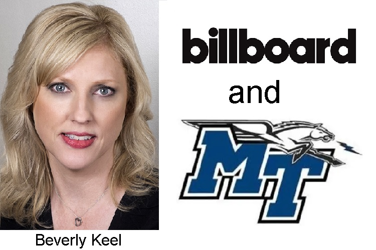 MTSU's 6th Go Round On Billboard's School List