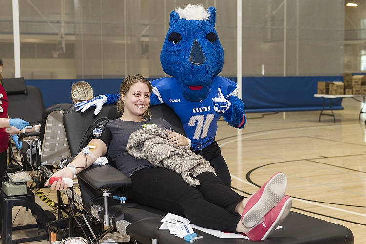 MTSU: Donate blood Oct. 29-31 to save lives and Bleed Blue, Beat WKU