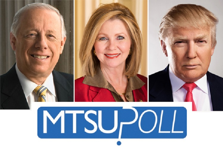 MTSU Poll: Democrat Bredesen leads GOP's Blackburn in open-ended race for U.S. Senate