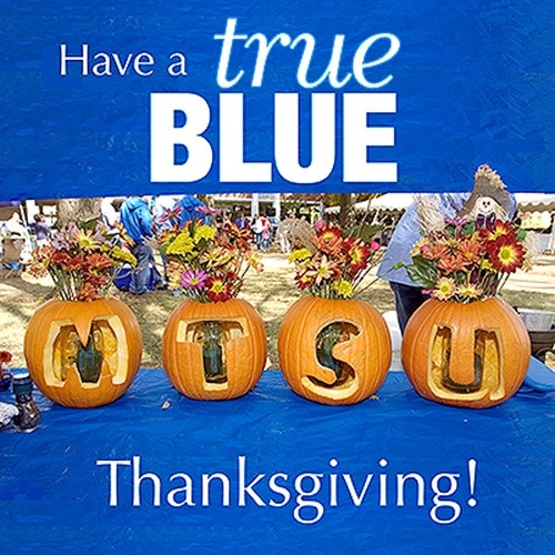 MTSU Takes Thanksgiving Break