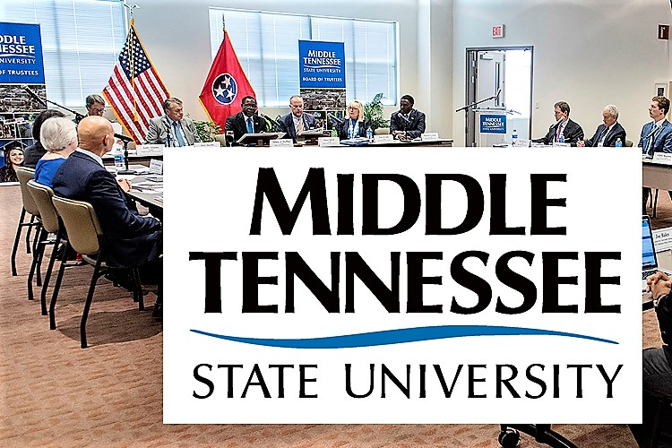 MTSU Board of Trustees Meets November 12, 2019