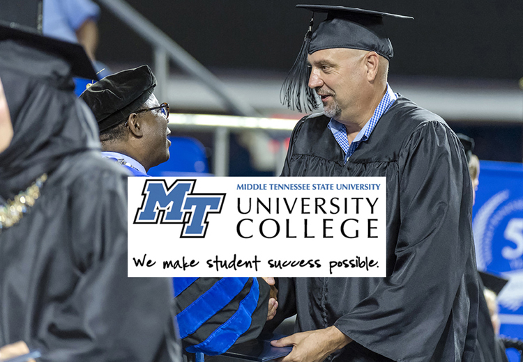 Former MTSU students find surprising degree path through Graduate MT program