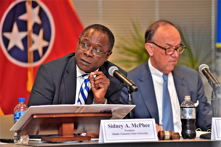MTSU Board of Trustees Gets Updates