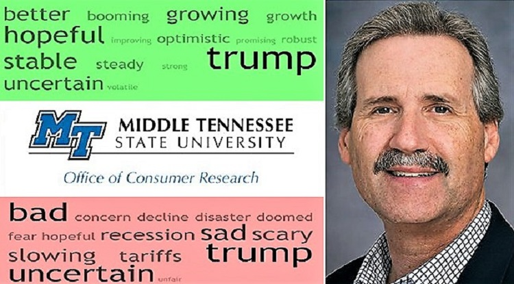 TN Consumer Confidence Highest Since MTSU Began Study