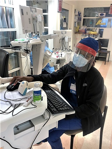 An MTSU alumna working as a nurse in New York City describes a horrific climate of shortages and stress as she tries to save lives from the coronavirus.