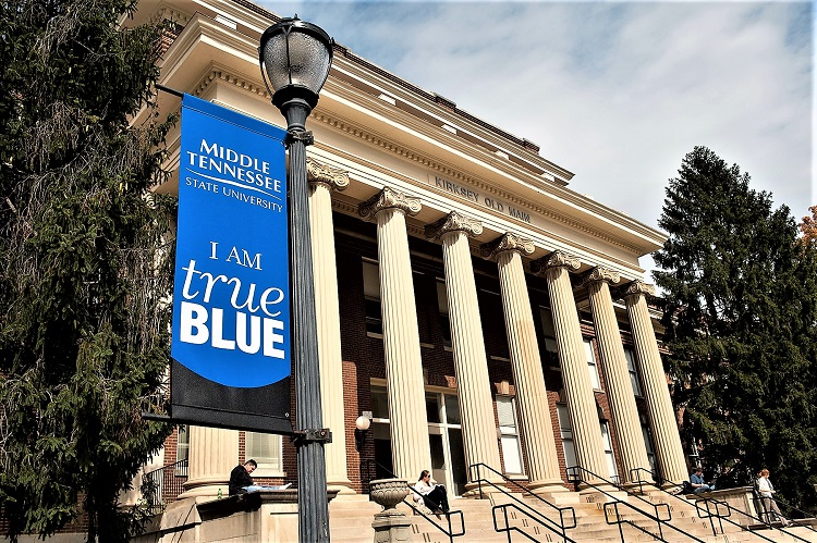 Go Big Blue! | MTSU, The Princeton Review, Best 385 Colleges, Murfreesboro, WGNS