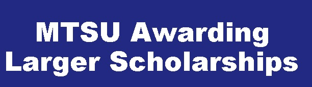 MTSU Academic Scholarship Deadline Is December 1st