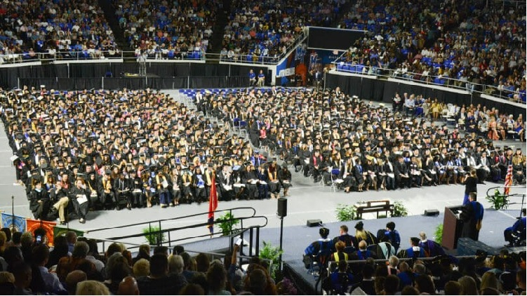 Congratulations 1,700 New Blue Raider Alumni