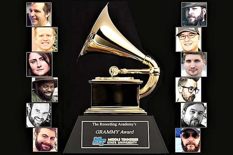 Middle Tennessee State University graduates are packing their carry-ons and preparing to head west to be recognized for their work at music's highest levels: the 62nd annual Grammy Awards, set Sunday, Jan. 26, 2020 in Los Angeles.