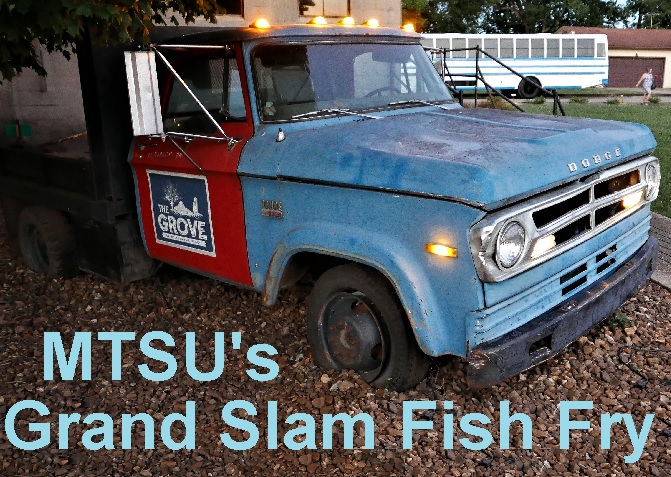 MTSU Grand Slam Fish Fry This Coming Monday Night   MTSU, baseball, John Stanford Grand Slam Fish Fry, Grove at Williamson Place, Murfreesboro, WGNS