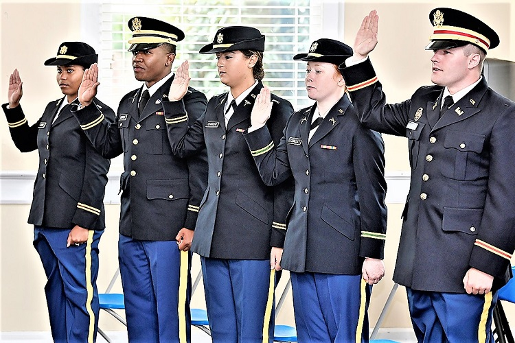 Congratulations New MTSU ROTC 2nd Lieutenants