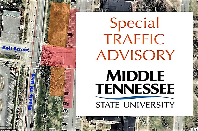 Middle TN Blvd. Improvement Temporarily Close Bell and Faulkinberry