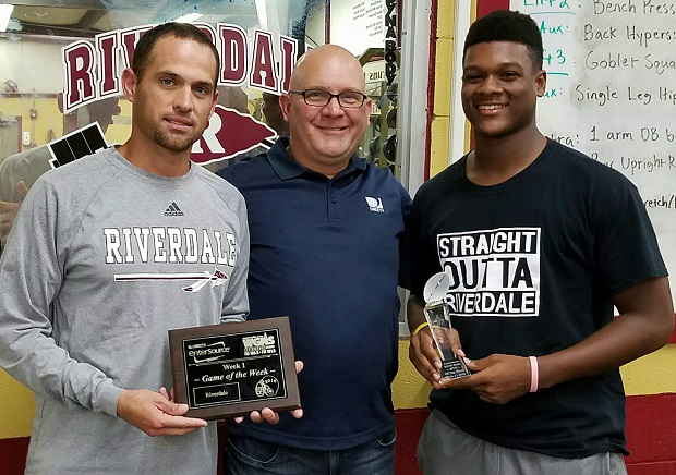 DIRECTV by EnterSource / NewsRadio WGNS MVP - Week 1 | DIRECTV by EnterSource, NewsRadio WGNS, MVP of the Week, Riverdale, Christian Souffront, Andy DeGraw, Will Kriesky